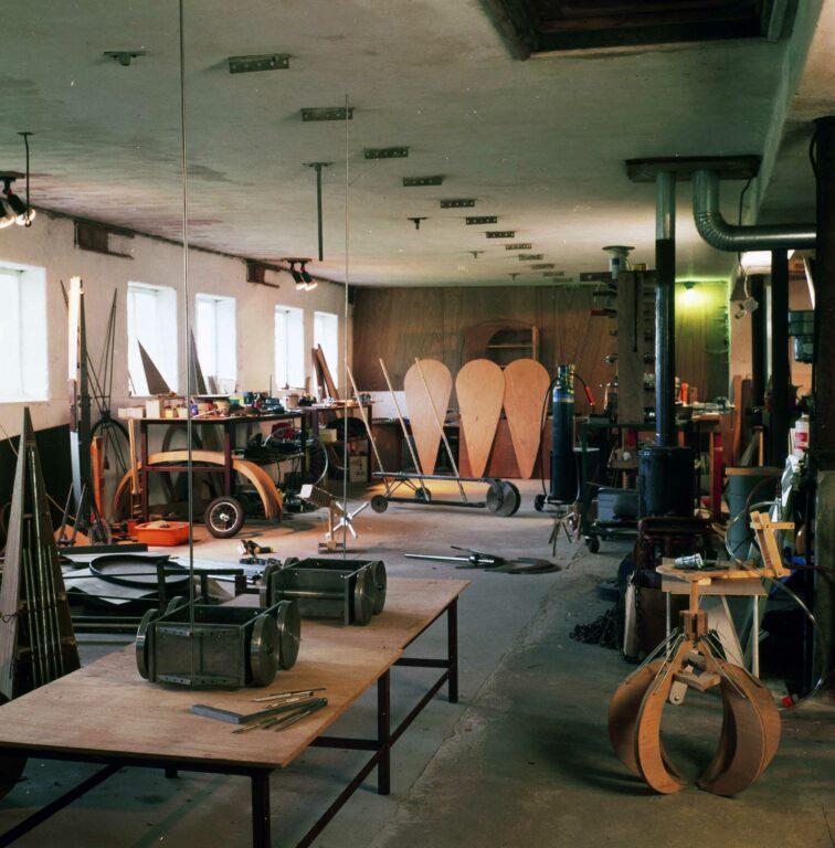 Werkplaats atelier randweg deurne gerrit van bakel