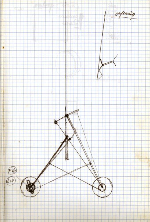 gerrit van bakel Eierwagentje Schets1983020