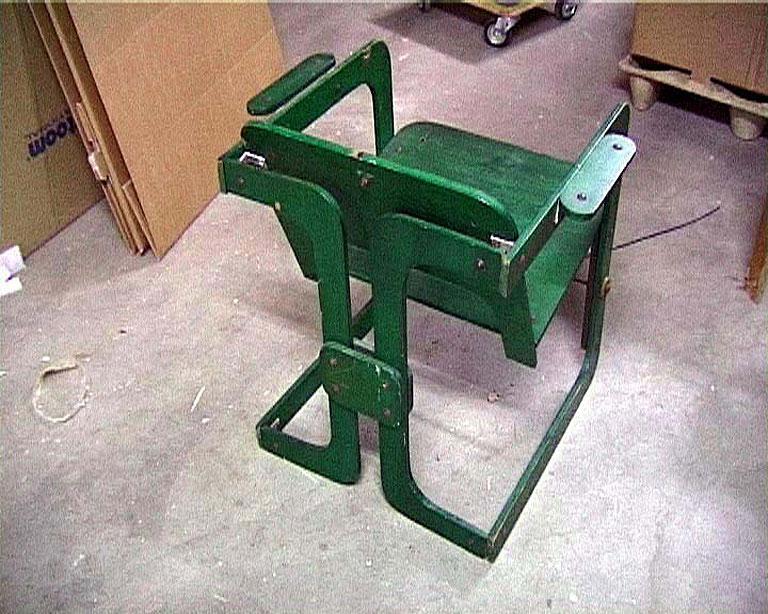 Gerrit van Bakel spin stoel M20
