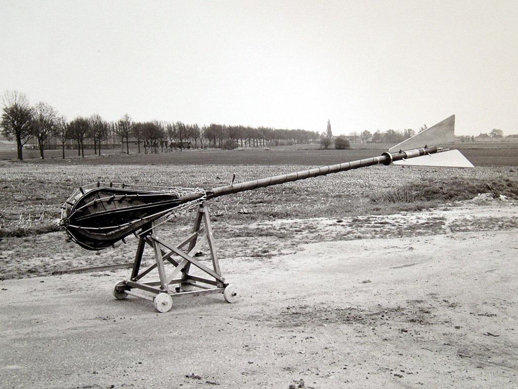 Gerrit van Bakel Atoombom Atomic Bomb foto: Hans Biezen